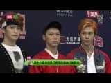 160409 top chinese music NCT U Red carpet