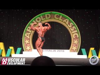 Arnold Classic Australia 2016 - Evan Centopani Posing Routine