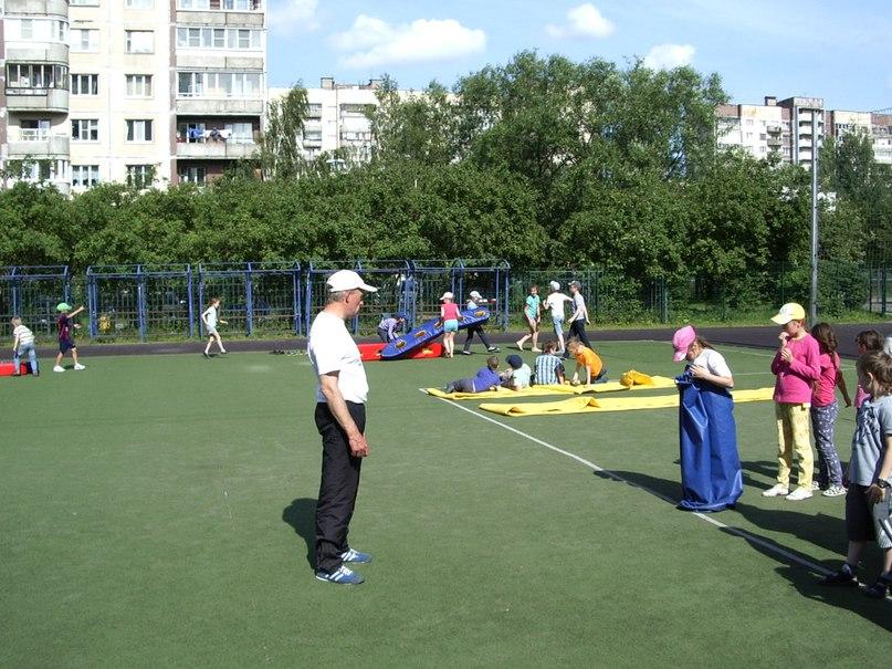 Районный спортивный праздник для городских летних лагерей «Спортивный двор»