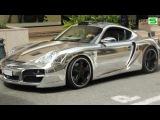 Porsche Cayman Chrome by Techart