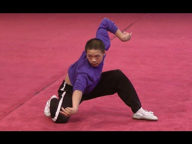 Praying Mantis Style Instructional Wushu Form 螳螂拳
