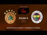 Highlights: Panathinaikos Athens-Fenerbahce Istanbul