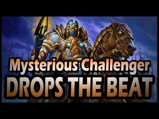 Mysterious Challenger Drops the Beat