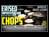 ERISED Improvisation 16th and 32nd Note Chops (Periphery) - Advanced Drum Lesson By Nick Bukey