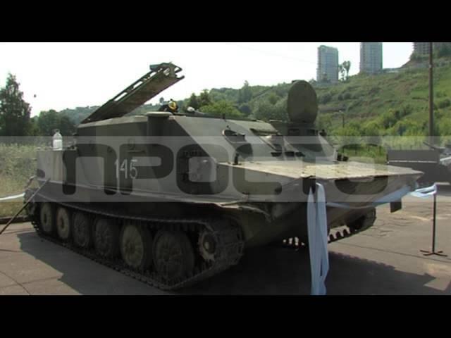 Новый экспонат Парка Победы, эфир от 04.07.2016
