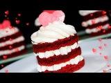 Пирожные КРАСНЫЙ БАРХАТ На День Влюблённых