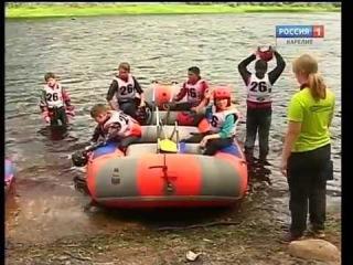 Первенство РФ по рафтингу проходит в Карелии без местных спортсменов