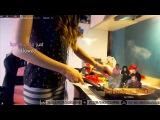 Как не надо готовить шаверму или стримерша Карина блюёт на стриме (ЖЕСТЬ 18+)