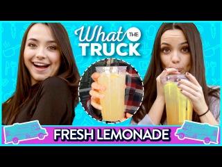 LEMONADE CHALLENGE   What The Truck w/ The MerrellTwins