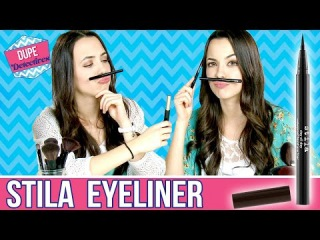 Stila Eyeliner Dupe DISCOVERED! Dupe Detectives with the MerrellTwins