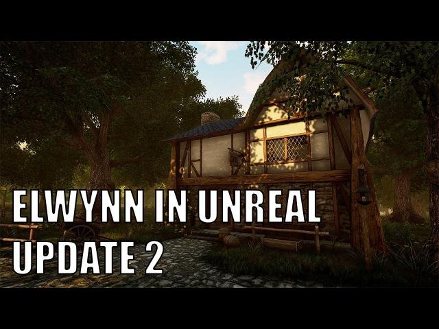 Elwynn Forest in Unreal Engine 4