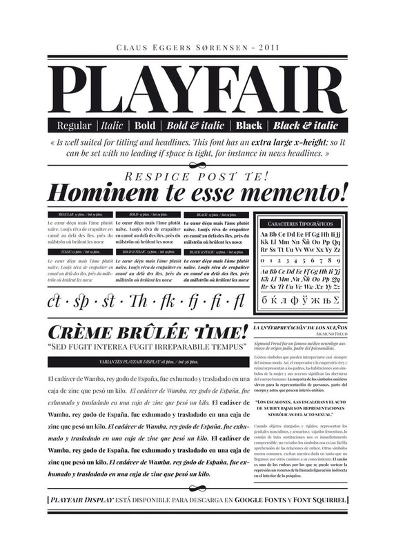 Download playfair-display font (typeface)