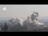 10.01.2016. #Сирия. Авиация бьет по позициям боевиков