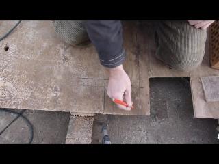 Приспособление для кладки кирпича..делаем вертикальные швы.