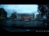 Сильная авария рядом с ночным клубом Матрица