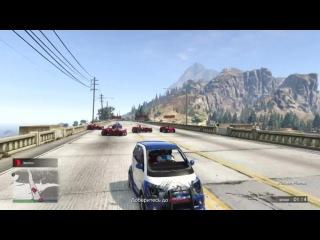 GTA 5 Online (Гонки) - Самый Убойный Футбол!