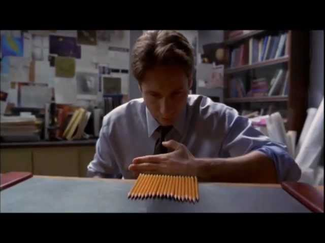 {X-Files} Pencils in the Ceiling