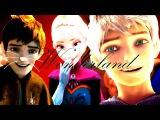 Jack Frost & Elsa    Wonderland [MEP Part for xFrozenCrystalx]