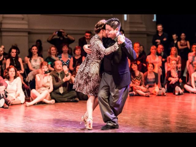 Tango Juana Sepúlveda y Carlitos Espinoza 01 05 2016 Brussels Tango Festival Mixed couple 3 4
