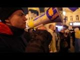 Факельное шествие радикальной части Майдана в Киеве (01:01:2014)