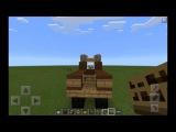 МАЙНКРАФТ ~ Как сделать/построить грузовик ~ Minecraft PE