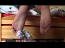 Smelly Teen Boy Feet on the bed ;)