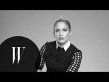 Jennifer Lopez on Selena, West Side Story, Rosie Perez and Madonna  Screen Tests  W Magazine