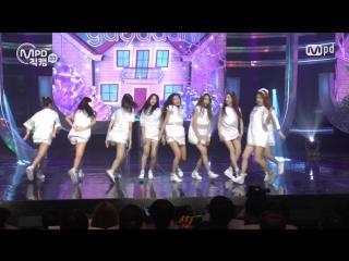 [MPD직캠] 구구단 직캠 Wonderland gugudan Fancam @엠카운트다운_160707