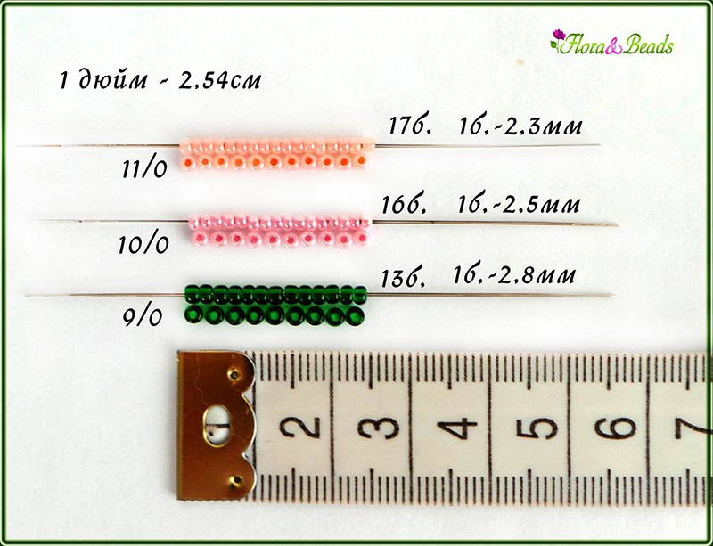 Классификация бисера по производителям и по размерам DN7Pi73eFzw