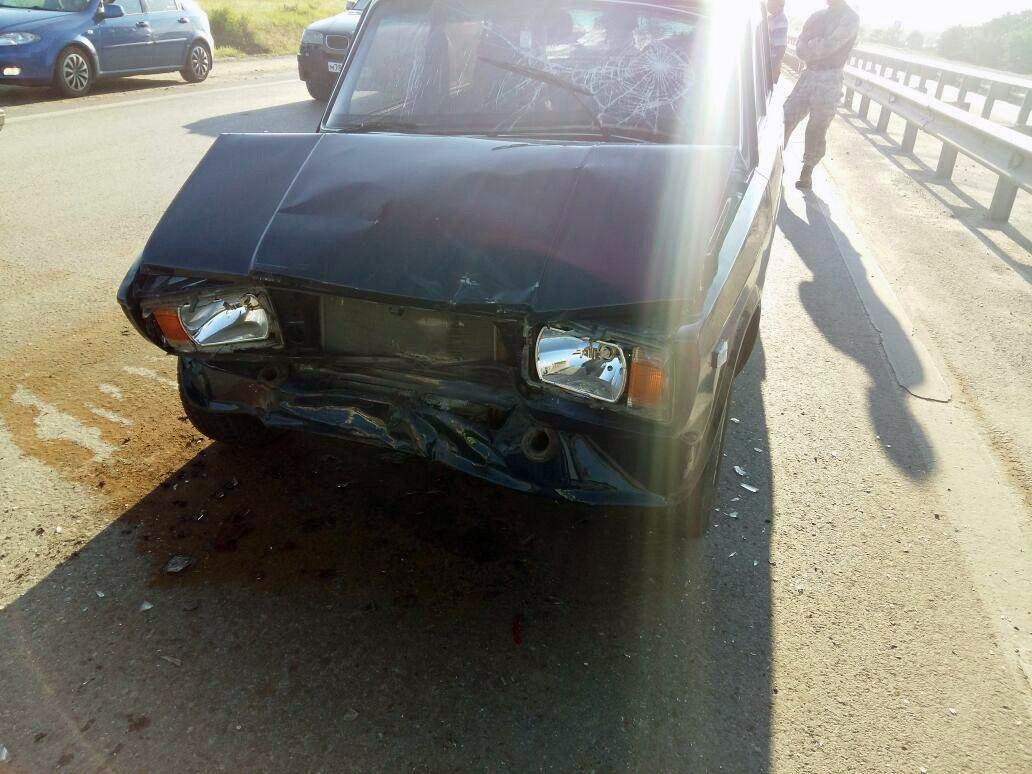 В тройном ДТП на трассе «Ростов-Таганрог» пострадала 5-летняя девочка