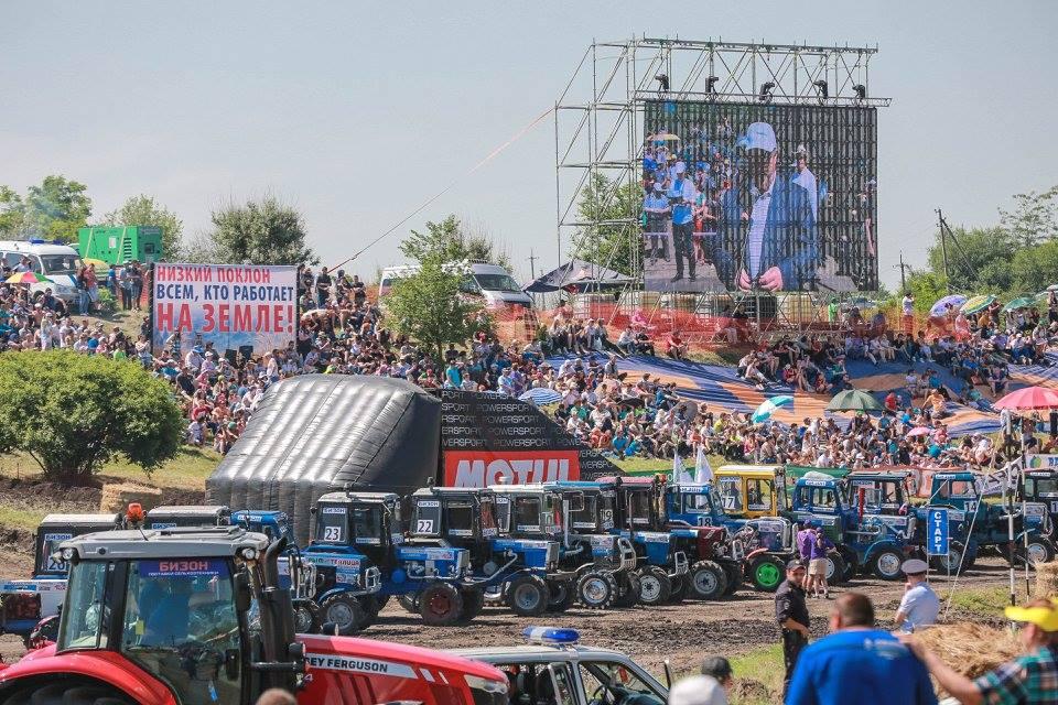 Под Ростовом-на-Дону состоялись гонки для суровых мужиков