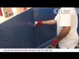 Урок 06 Пайка ПВХ пленки вдоль стен бассейна