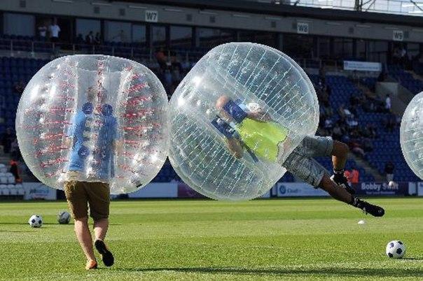 футбол в шарах, Бампербол