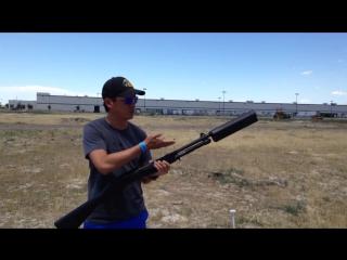 Как звучит оружие с глушителем в реальной жизни
