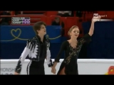 2015 European Championships. Танцы на льду-Короткий Танец. Александра Степанова и Иван Букин