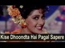 Kise Dhoondta Hai Pagal Sapere Full Video Sridevi Sunny Deol Hindi Romantic Song Nigahen