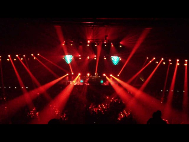Feed Me - Blood Red (piano mix) Live @ ADE Together 20/10/2012 Amsterdam