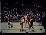 Ole &amp Gene Anderson  vs  Wahoo McDaniel &amp Paul Jones  1977