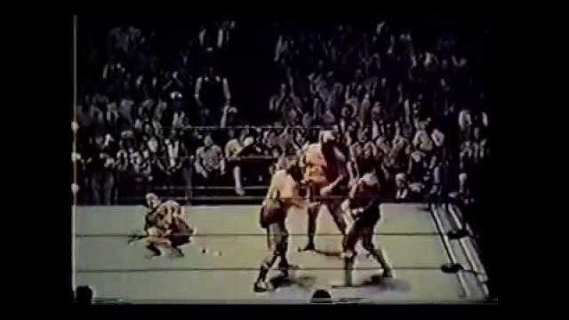 Ole Gene Anderson vs Wahoo McDaniel Paul Jones 1977