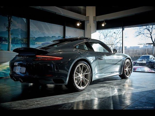 Prezentarea noului Porsche 911 Carrera S facelift în Moldova by