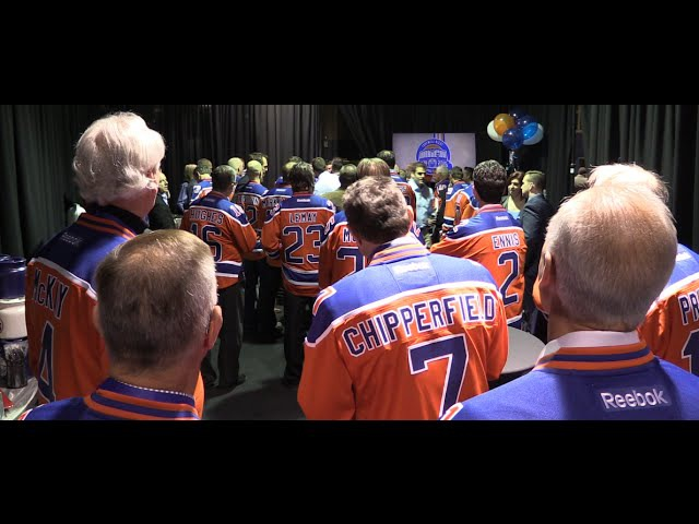 More than 150 Oilers alumni gather at Rexall Place
