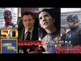 Supercut: Super Bowl 50 Comic Book Movie Previews - Deadpool, X-Men, Civil War, Batman v. Superman