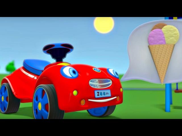 Zeem Zoom - Eğitici çizgi film - Dondurma keyfimiz