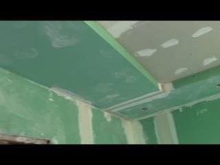 Фрезерованный потолок и сухая штукатурка