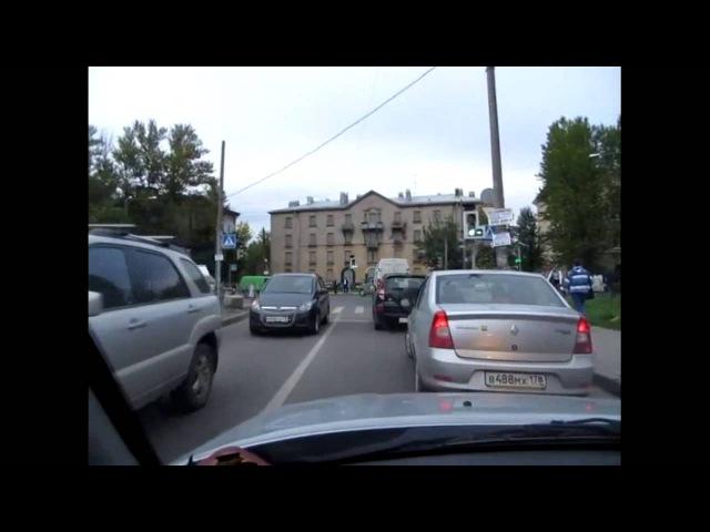 Дополнительные секции на светофоре и проезды перекрестков