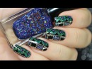 Holography etnic nail art tutorial