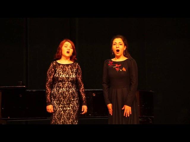 Перголези. Дуэт сопрано и меццо-сопрано из «Stabat Mater»