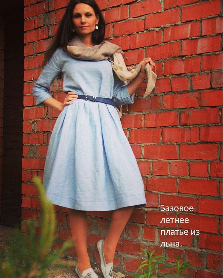 Милослава платье без выкройки