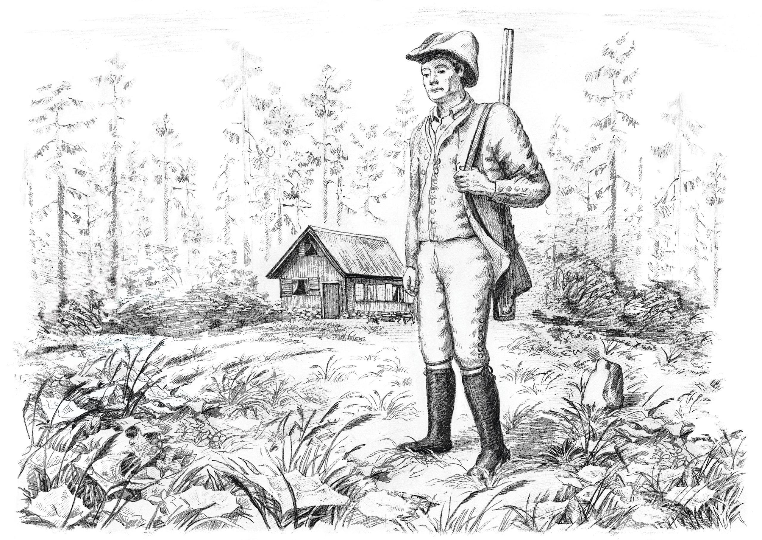 Кн. I. Гл. 4 «В Россию на свободные земли» - Иоганн Фохт-Вагнер