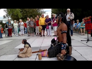 The audience was speechless when this man from an Indian tribe....